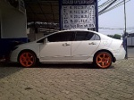 new civic te37sl R18 orange